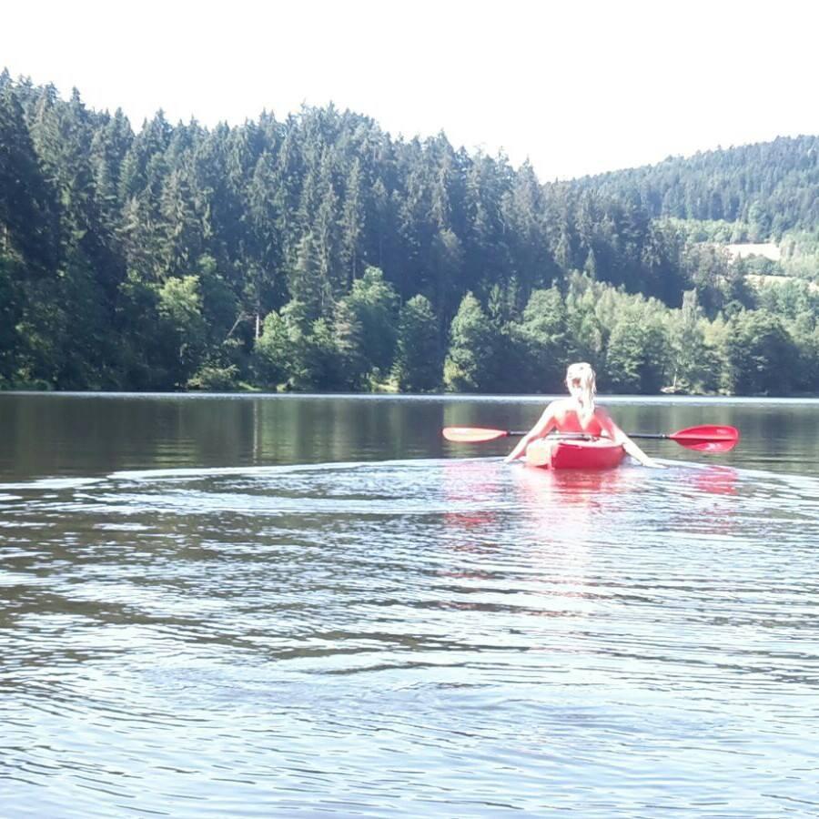 Kanutour auf dem Höllensteinsee