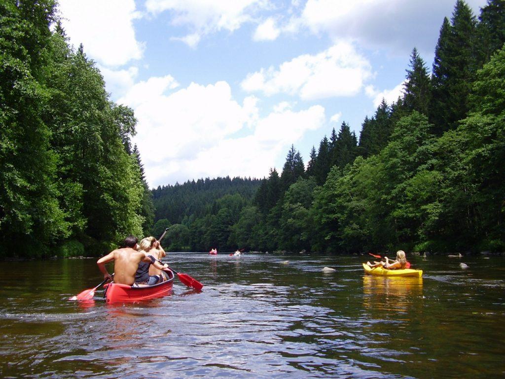 Hölzl Kanuverleih und Kanutouren im Bayerischen Wald / Bayern